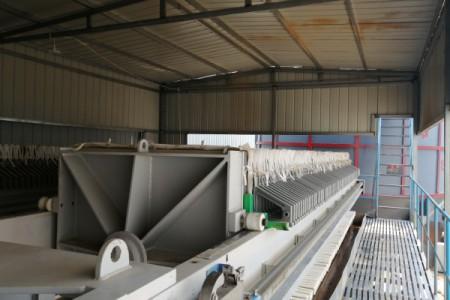 沙场污水处理——压滤机负载过高原因