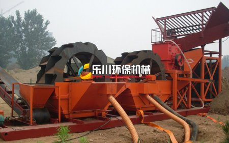 锤式制砂生产线(水冲式制砂机)