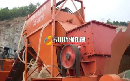 石粉洗砂机制砂机专用水冲式滚筒筛沙机