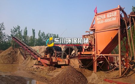 河卵石制砂机