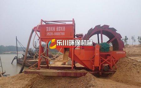 挖沙船专用配套洗沙机